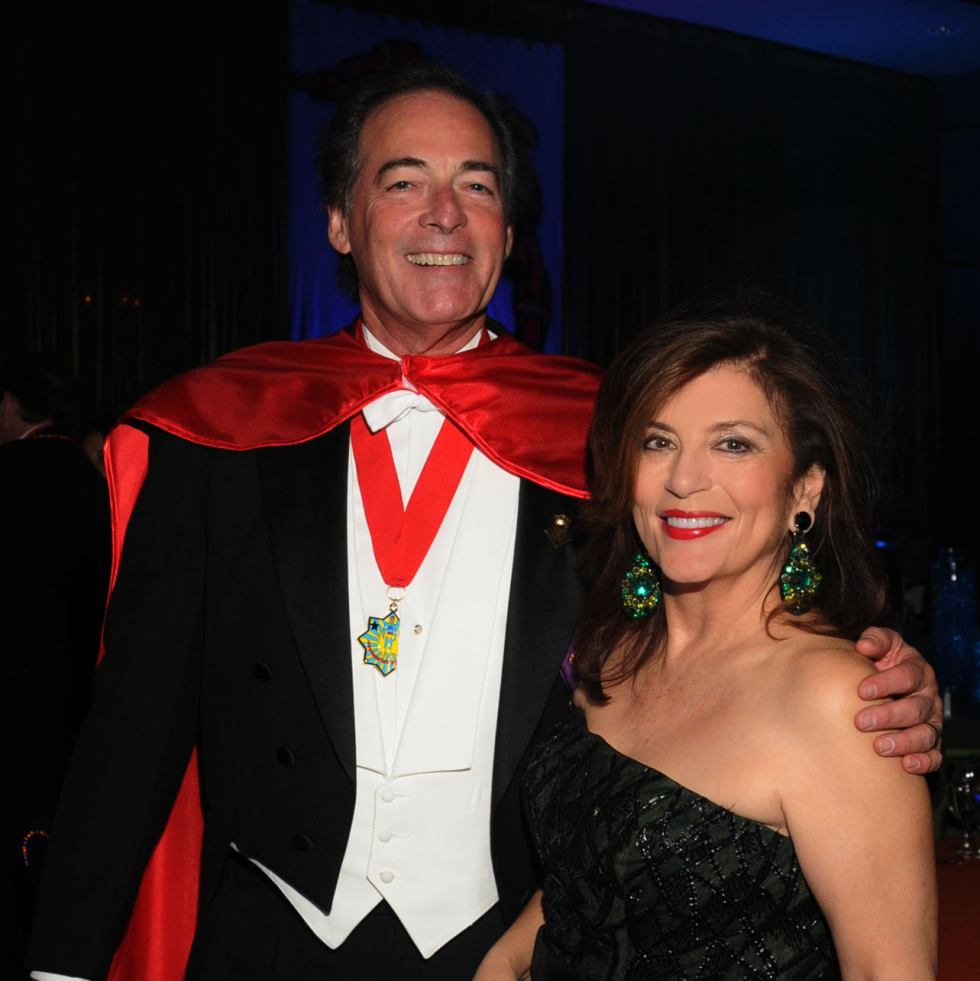 Knights of Momus Ball, Feb. 2016, Jim Ware Dancie Ware