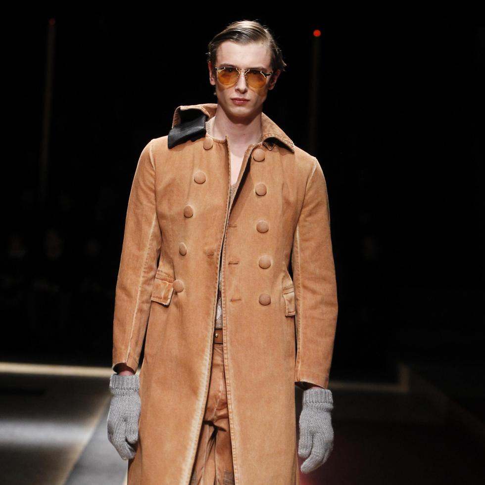 Prada menswear show in Milan January 2016