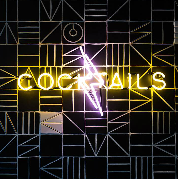 Midnight Rambler cocktails sign