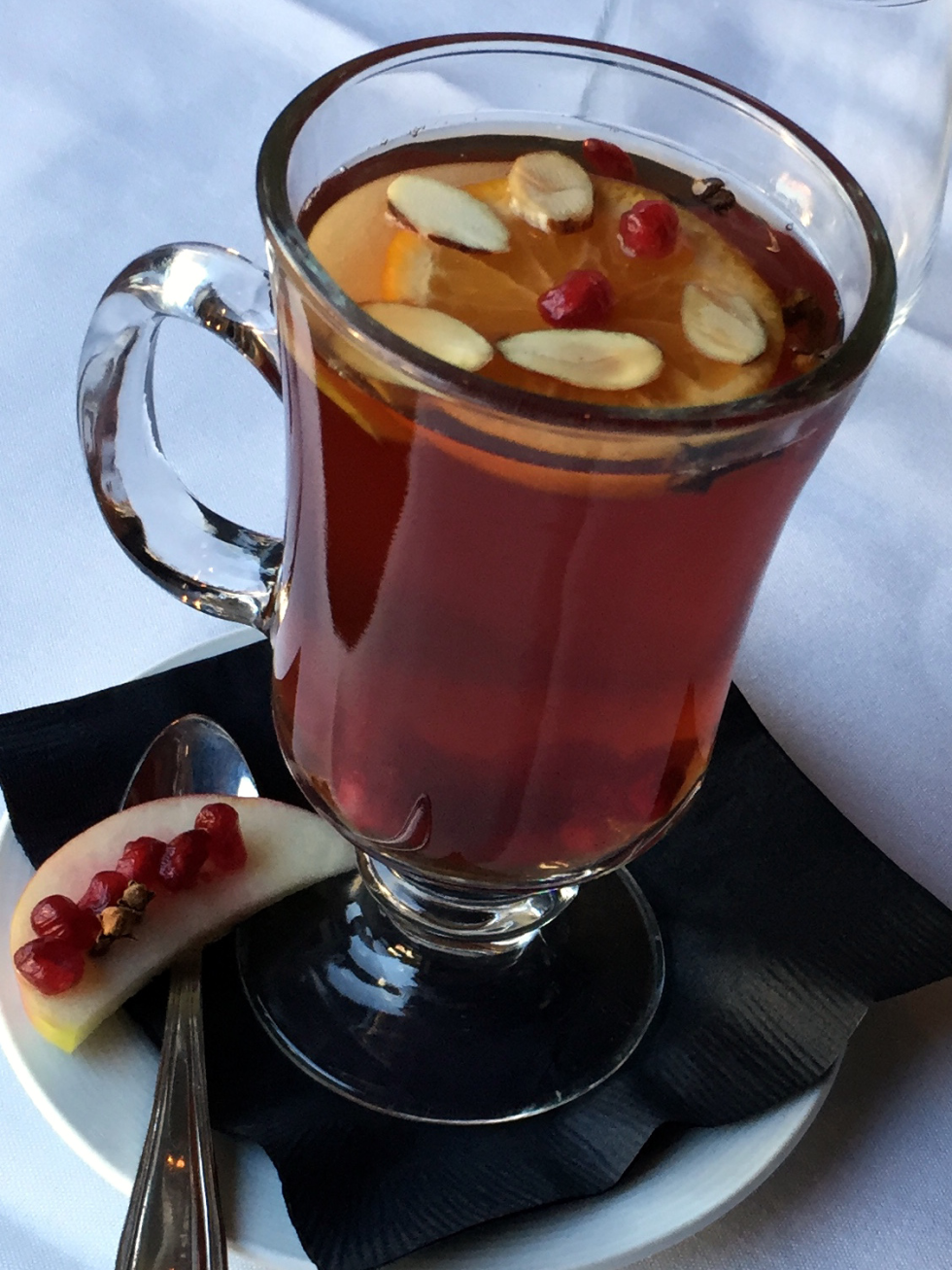 Houston, Etoile, December 2015, Mulled Pomegranate Tea