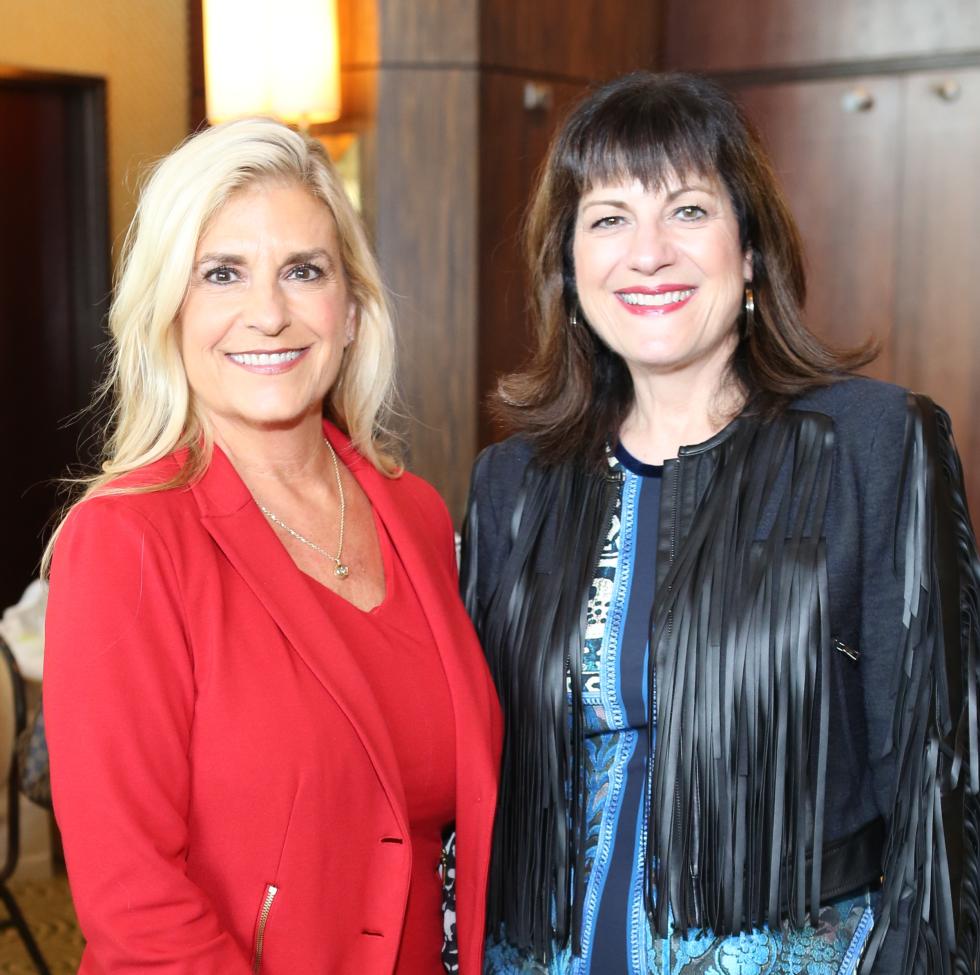 News, Shelby, Child Advocates Angels of Hope luncheon, Dec. 2015, Vicki Lehner, Ellie Francisco