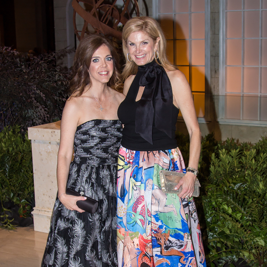 Candace Winslow in David Meister, Tanya Foster in Alice + Olivia