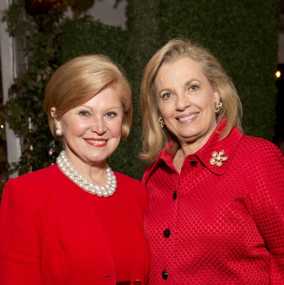TCH Ambassadors holiday party Jan Duncan, Nancy Gordon
