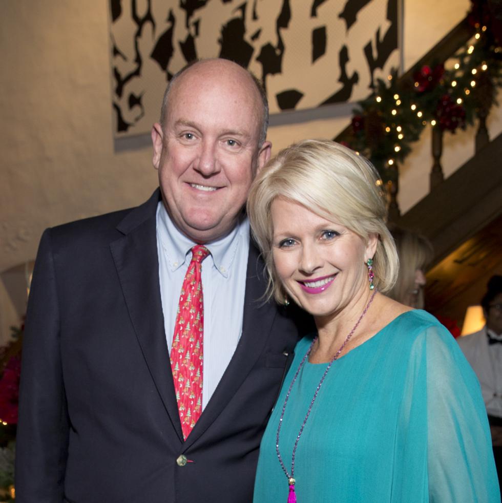 TCH Ambassadors holiday party Dr. Charles Fraser, Helen Fraser