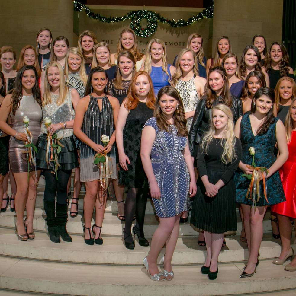 The 2016 Dallas Symphony Debutantes