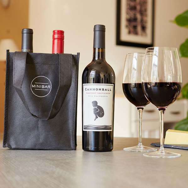 Minibar delivery wine