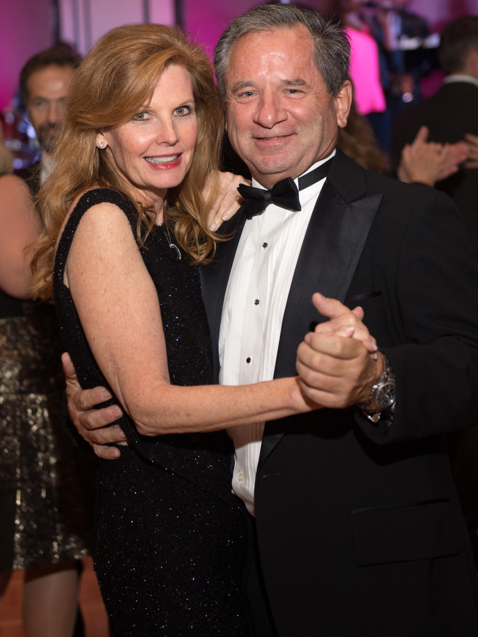 Houston, Pink Door Night of the Phoenix Gala, November 2015, Sally Dowell and Danny Kurtin
