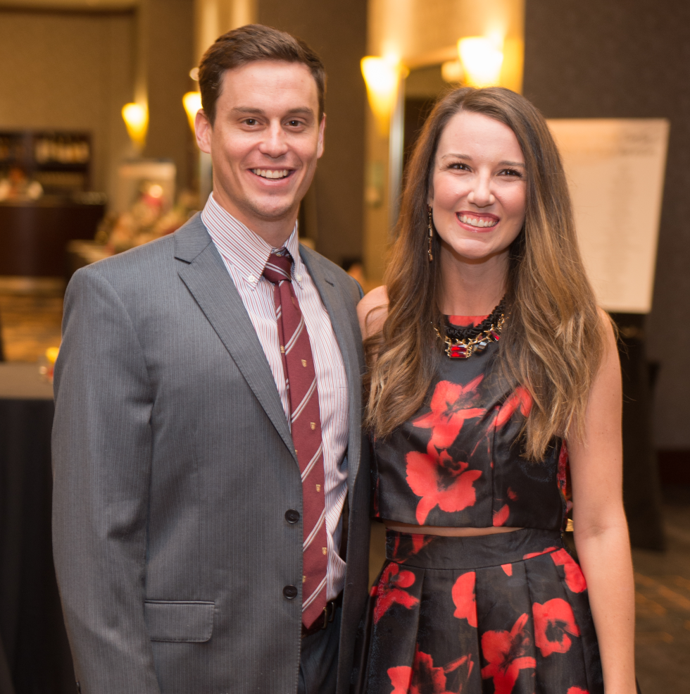 Houston, Pink Door Night of the Phoenix Gala, November 2015, Brett and Whitney Bennett