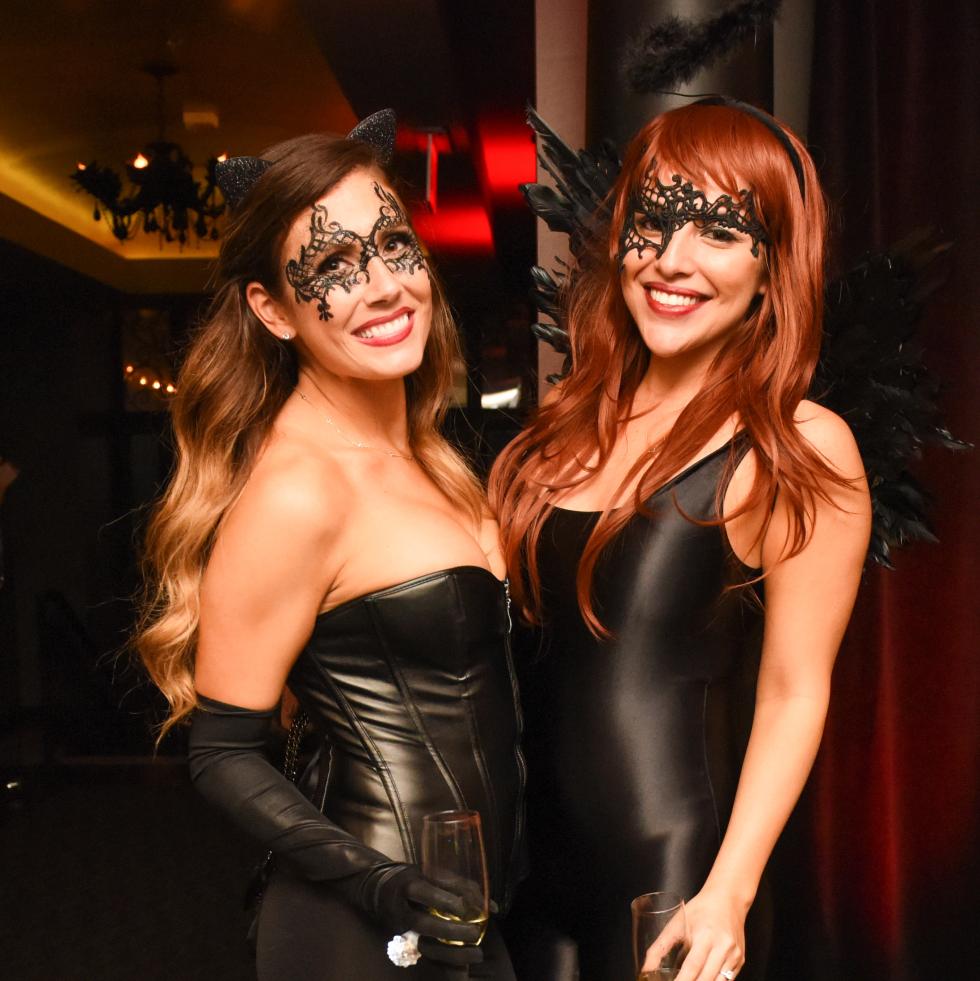 News, Shelby, Hotel ZaZa Halloween, Oct. 2015 Lindsey Cooper, Libby Fuentes