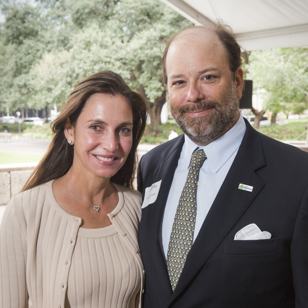 Houston Parks Board Luncheon Aliyya and Herman Stude, Luncheon Chairs