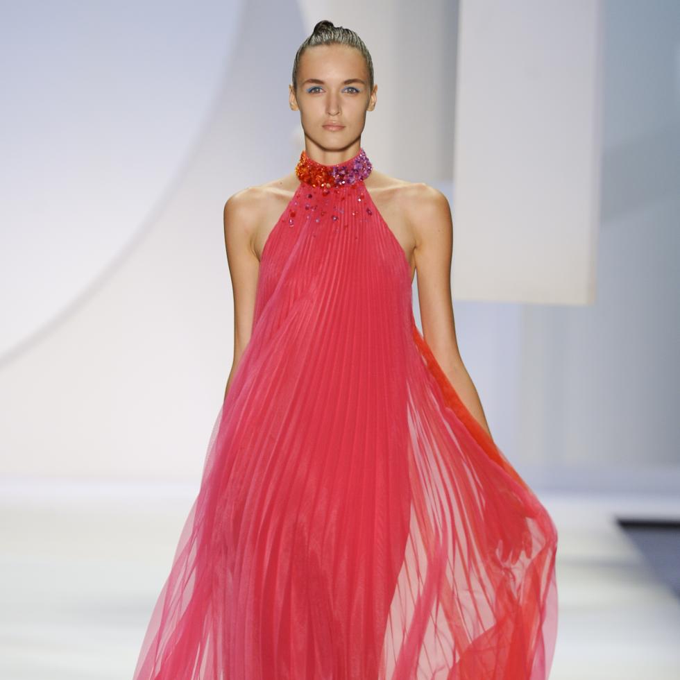 Monique Lhuillier spring 2016 collection Look 25