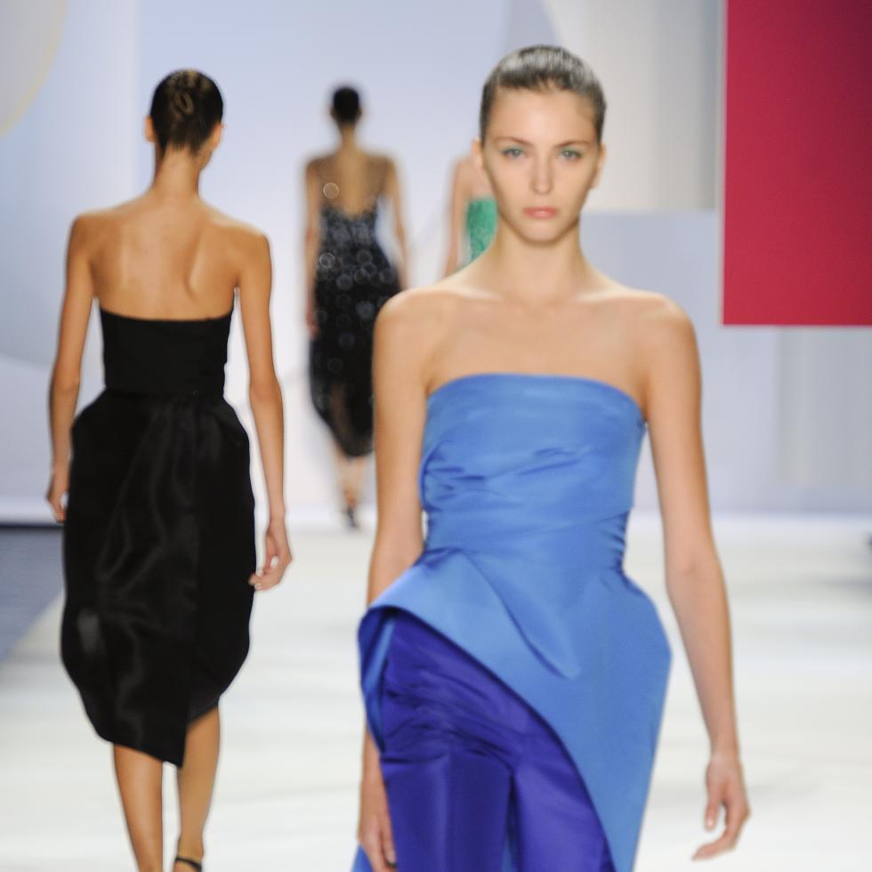 Monique Lhuillier spring 2016 collection Look 33