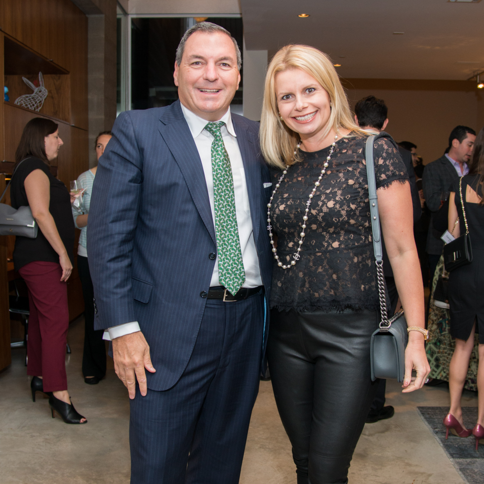 Houston, HGO Young Patrons event, October 2015, Tracy Dieterich, Valerie Dieterich