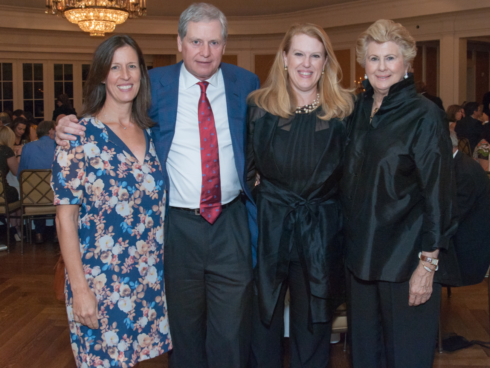 Houston, River Oaks Chamber Orchestra Gala, October 2015, Sarah Sampson, Bill and Ellen Morris, Alann Sampson