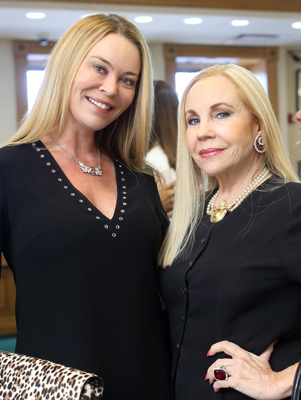 Houston, Una Notte kickoff party, October 2015, Megan Sutton Reed, Carolyn Farb