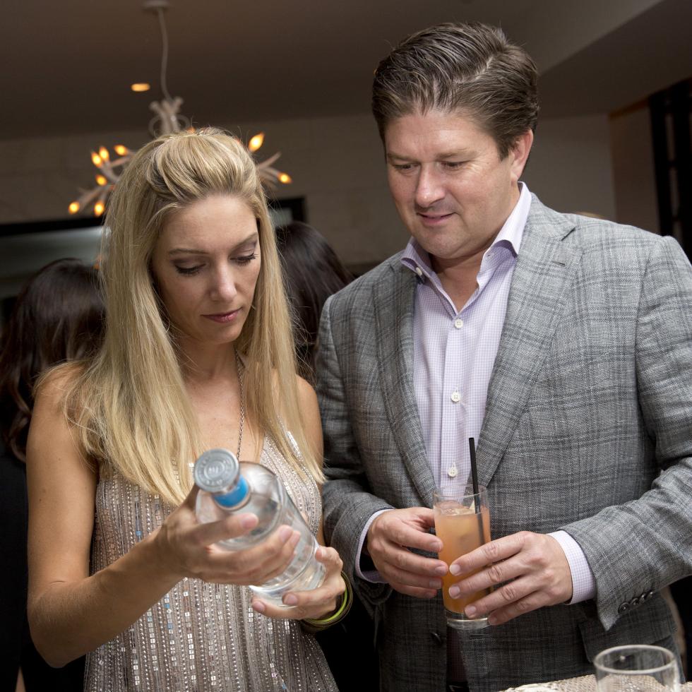 Houston, Casa Dragones launch party, October 2015, Amanda Fox, Derek Potts
