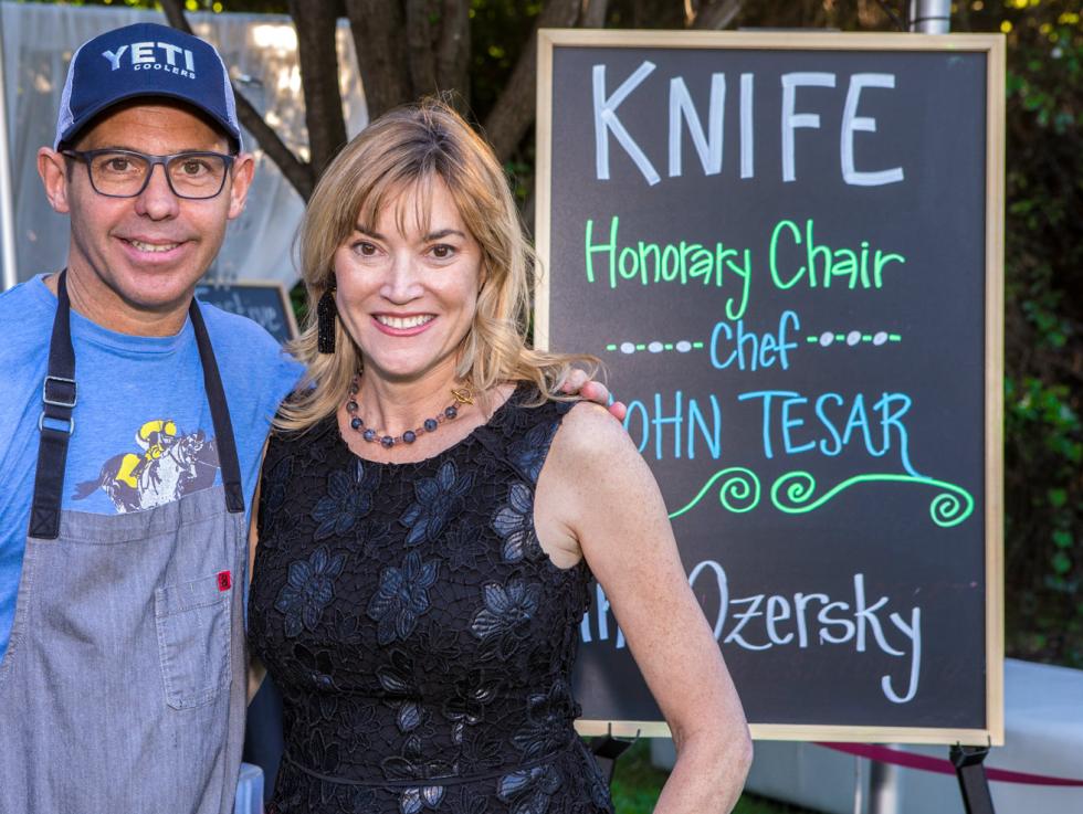 Chef John Tesar, Terri Provencal
