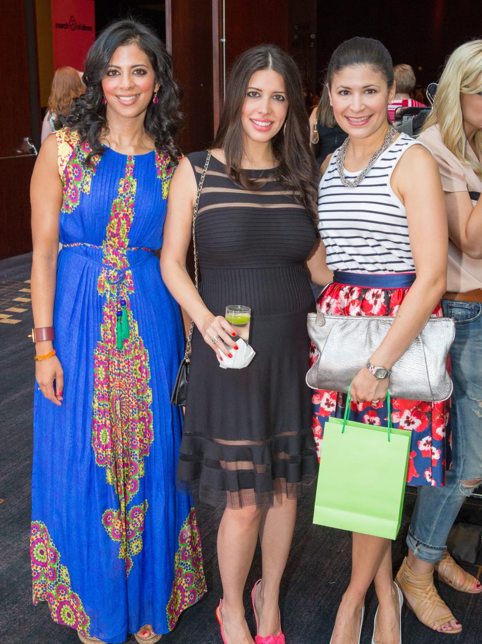 Houston, Woman's Hospital of Texas Labor Day Luncheon, August 2015, Elizabeth Abraham, Maria Lowery, Kristi Bradshaw
