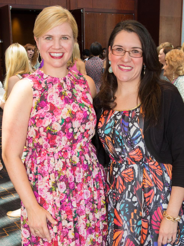 Houston, Woman's Hospital of Texas Labor Day Luncheon, August 2015, Ashley McClellan, Lisa Garcia