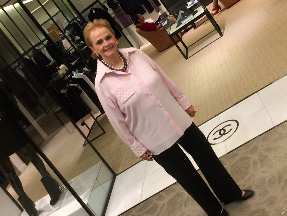 Sylvia Goldstein at Neiman Marcus