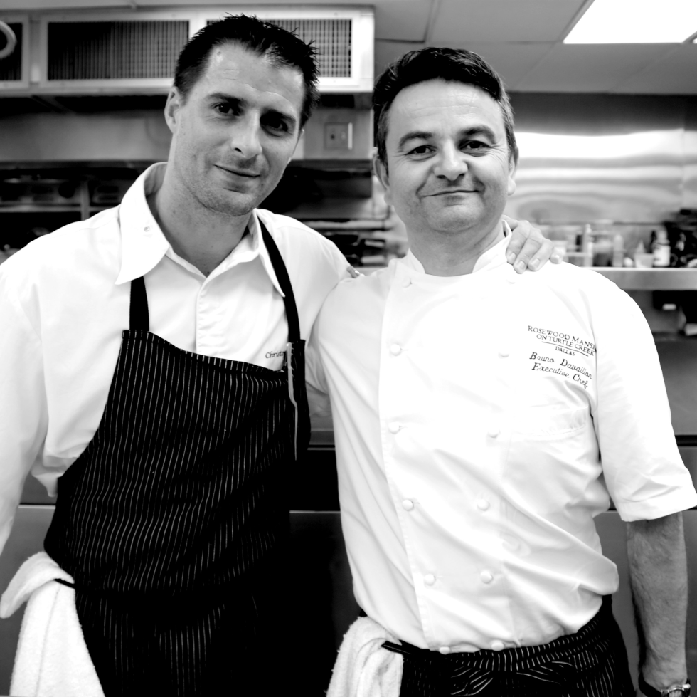 executive chef Christopher Hache and pastry chef Jérôme Chaucesse, Hôtel de Crillon