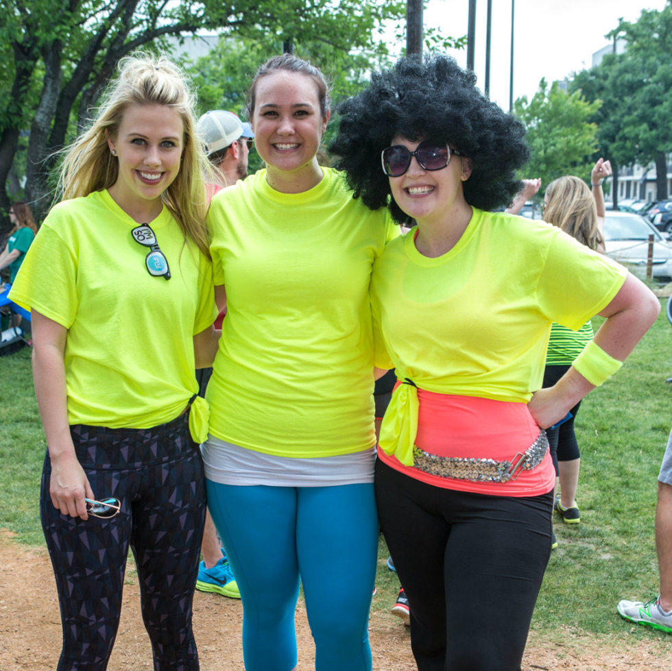 """Members of Team """"Bad Assets"""" – Stacey Weems, Courtney Bailey, Ally Ecklund"""