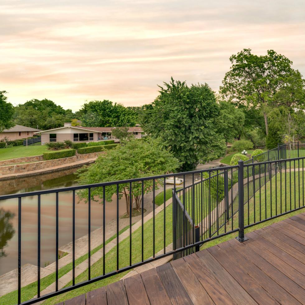 Deck at 4224 Briar Creek in Dallas