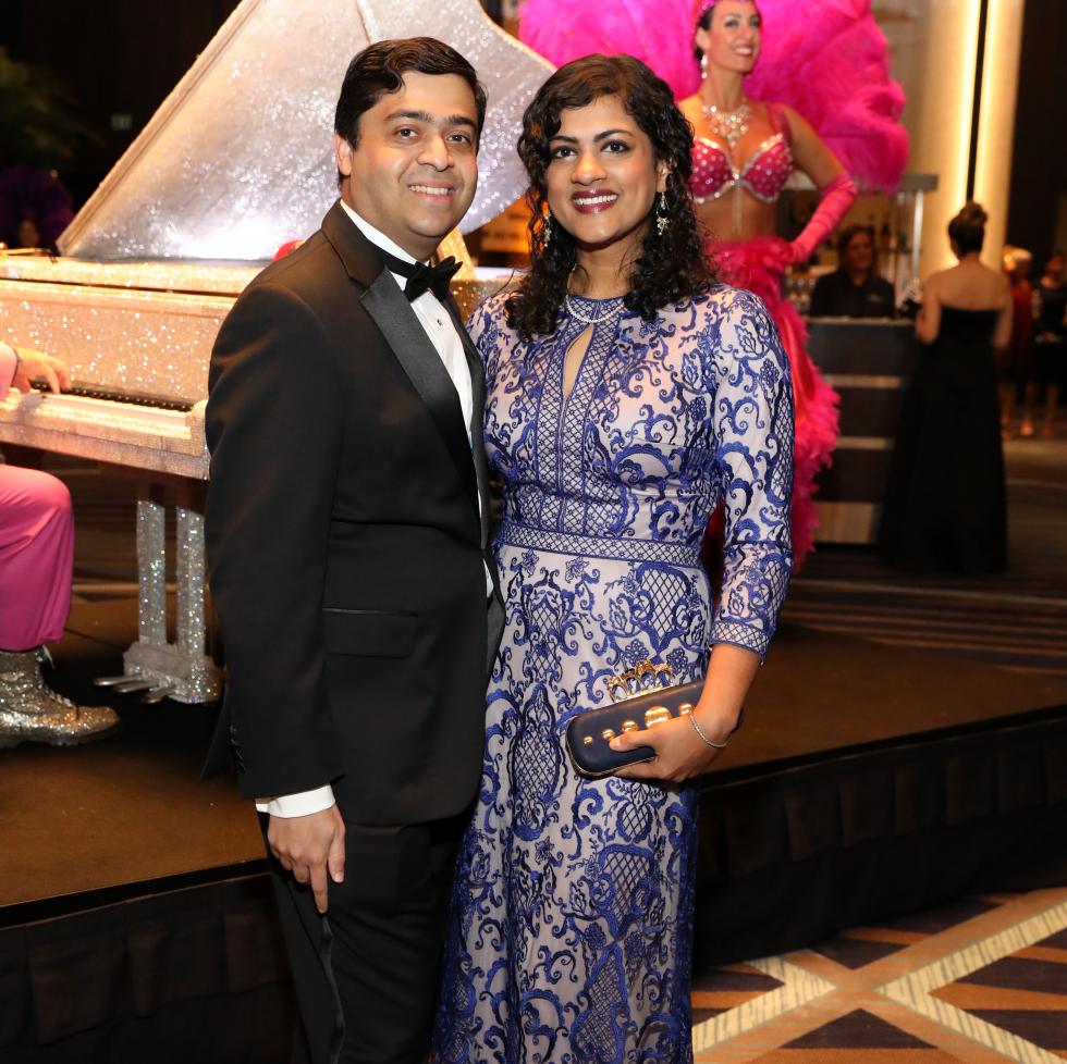 Houston, Houston Symphony Ball, May 2017,  Vivek Subbiah, Ishwaria Subbiah