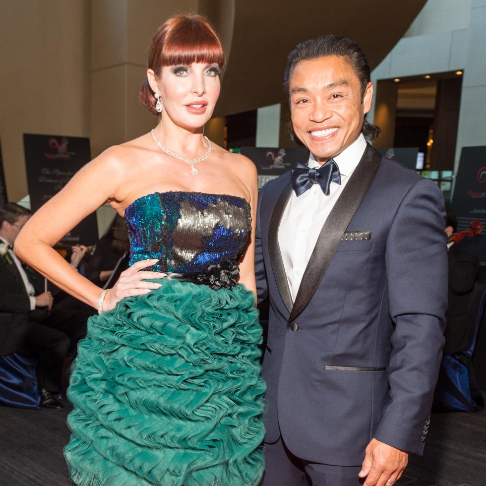 Virtuosi Gala, Staci and Dr. Quang Henderson