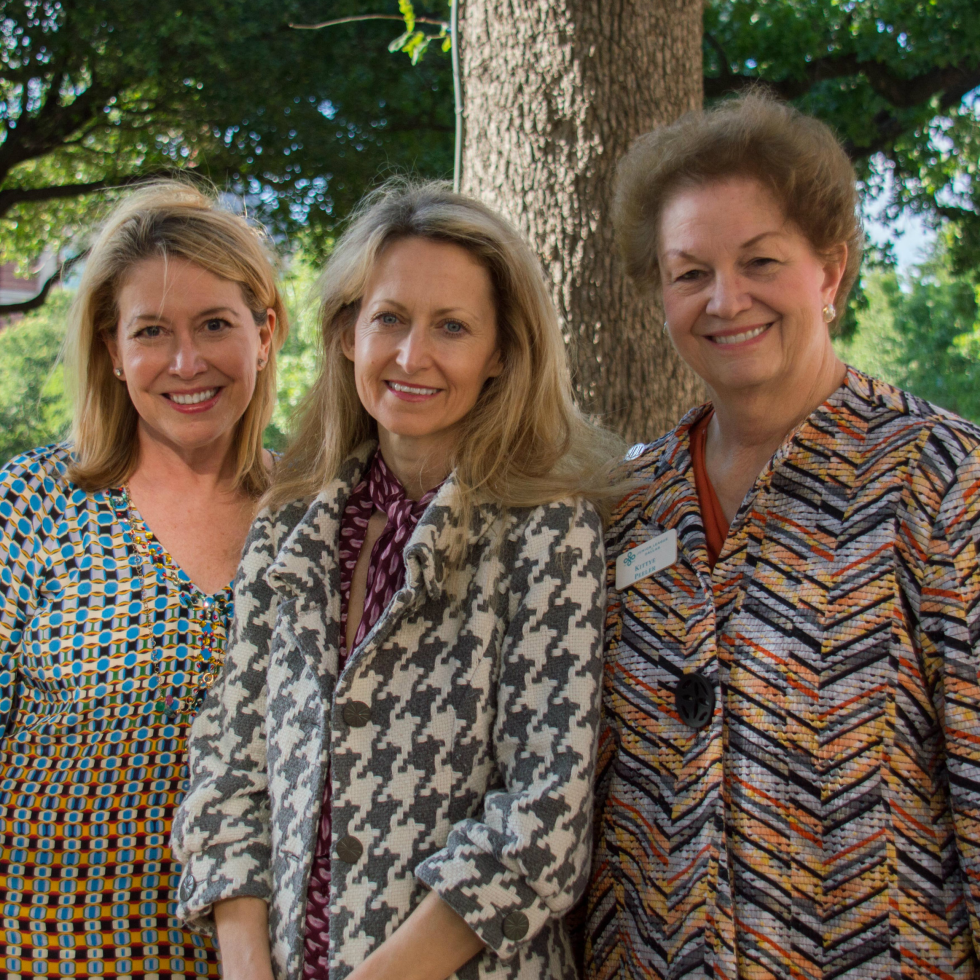 Diane Fullingim, JLD Sustaining Advisor Lynn McBee and JLD Sustainer President Kittye Peeler