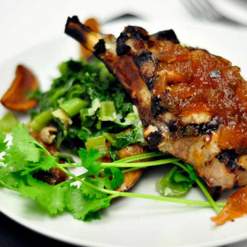 Social House, pork chop