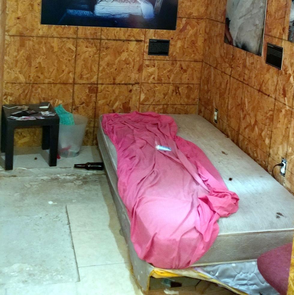 Houston, sex trafficking in Houston, August 2017, trafficking room