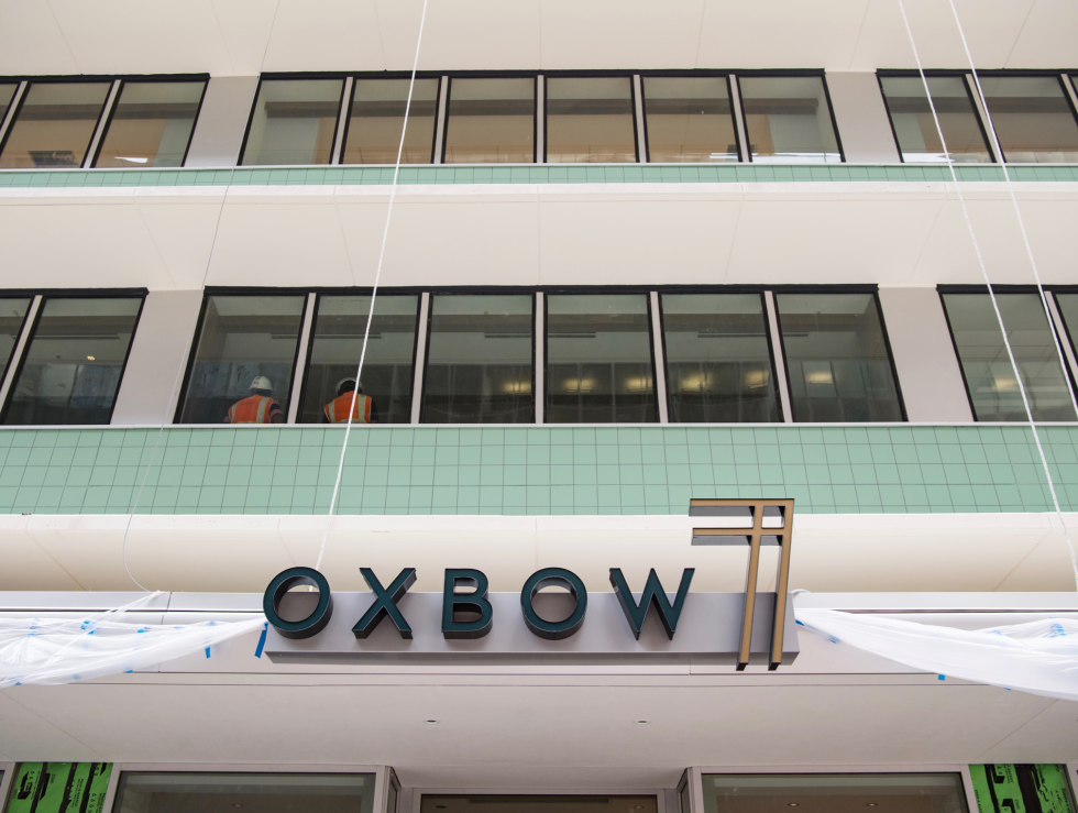 Oxbow 7 Sign