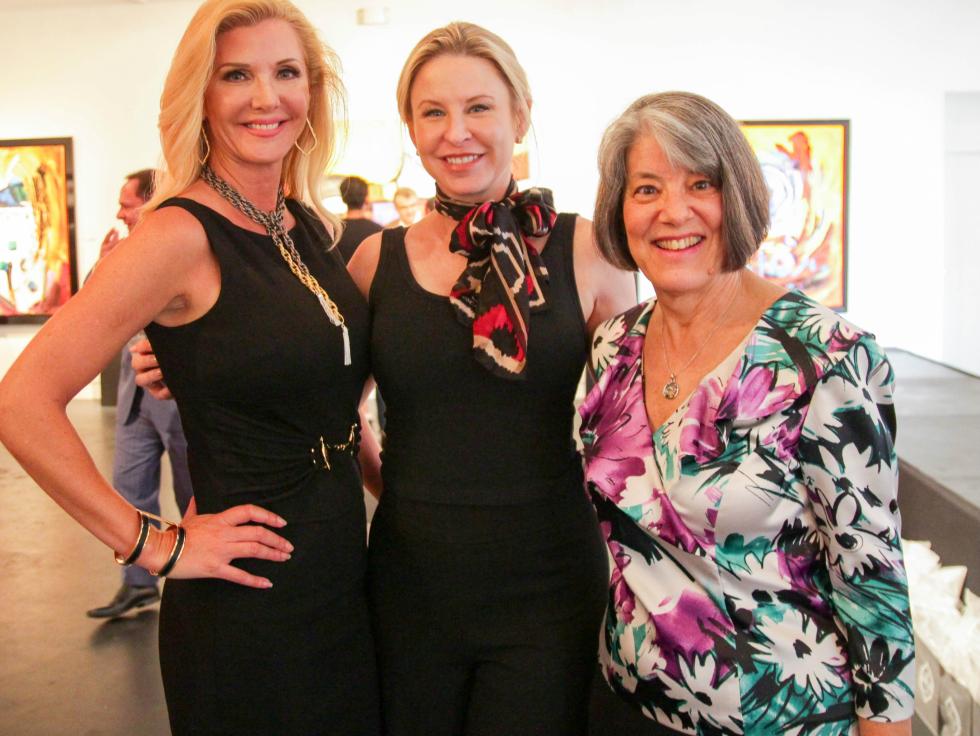 Melissa Poe, Lea Fisher, Barbara Elias-Perciful