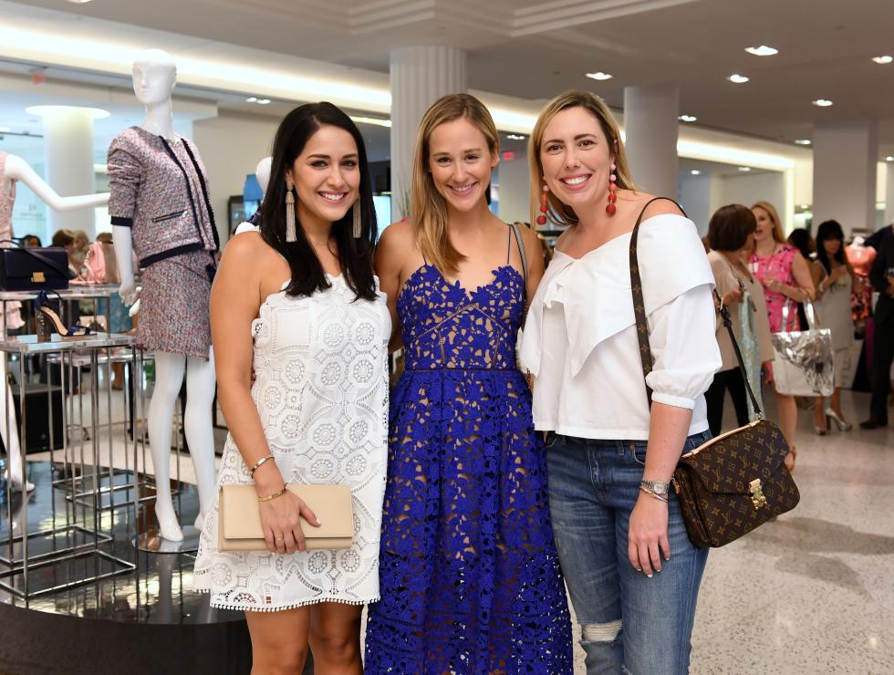 Houston, Women of Wardrobe Summer Soiree, August 2017, Ashley Miranda, Haley Urquhart, Kinsey Schimsk