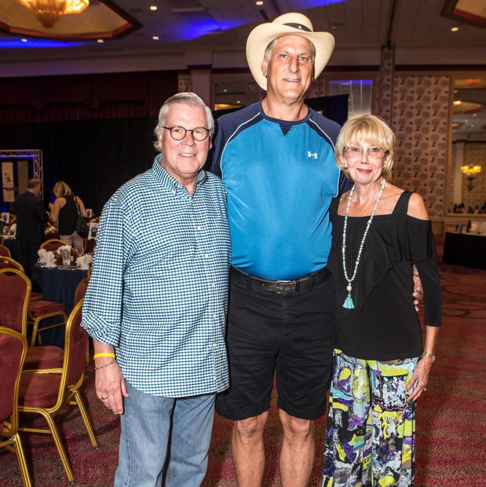 Bill Warren, Phil Pozderac, Beverly Warren