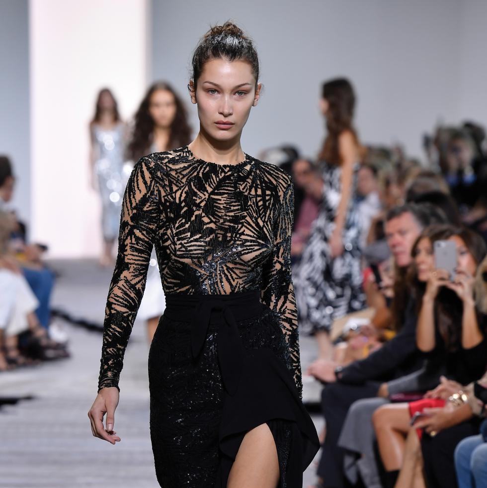 Michael Kors Collection spring 2018 New York Fashion Week look 68 Bella Hadid