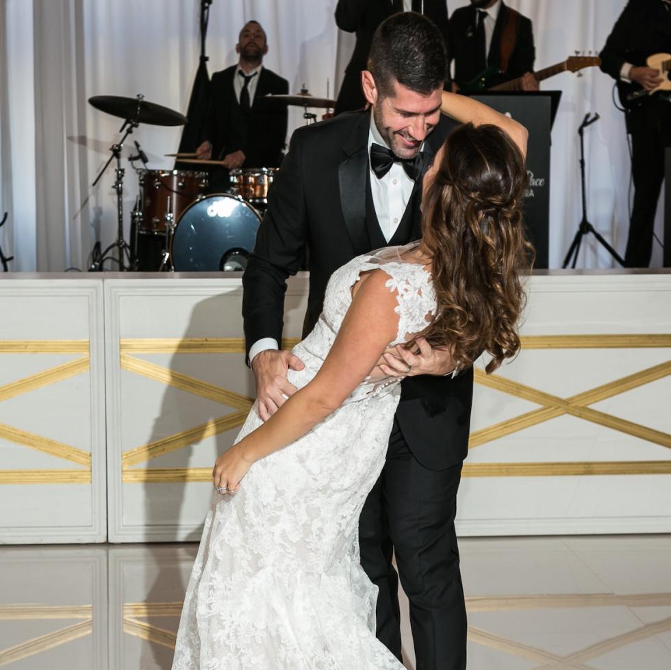 Monica Kitt Wedding first dance