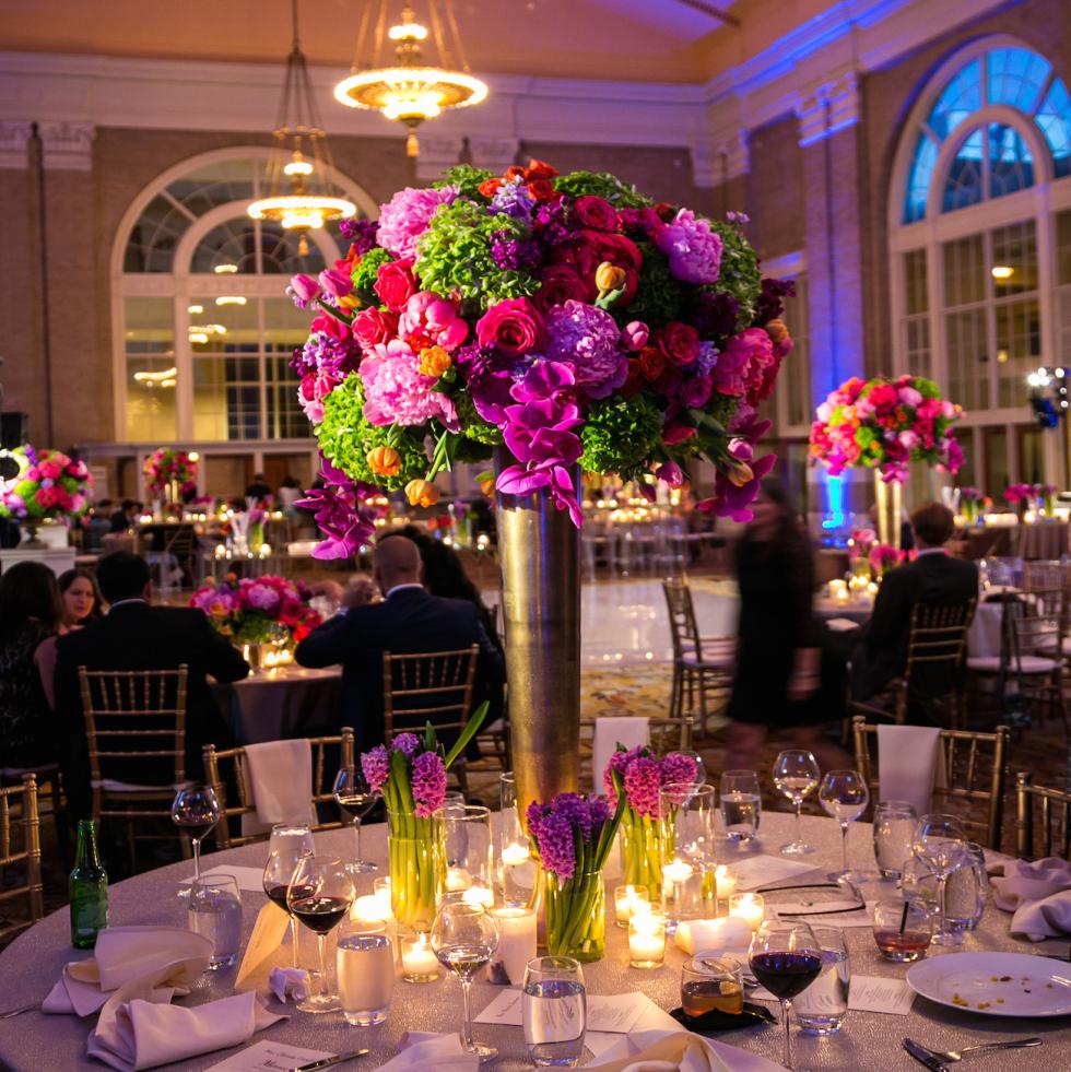 Monica Kitt Wedding, ballroom