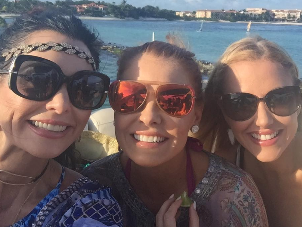 D'Andra, Brandi, and Stephanie in Mexico, Real Housewives