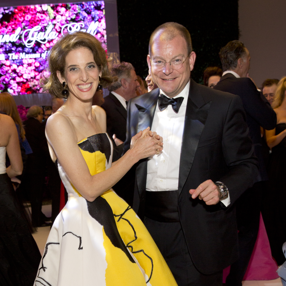 Eliza and Alex Bolen at MFAH Grand Gala Ball