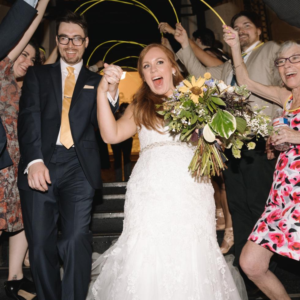 Collins Wedding, Farewell