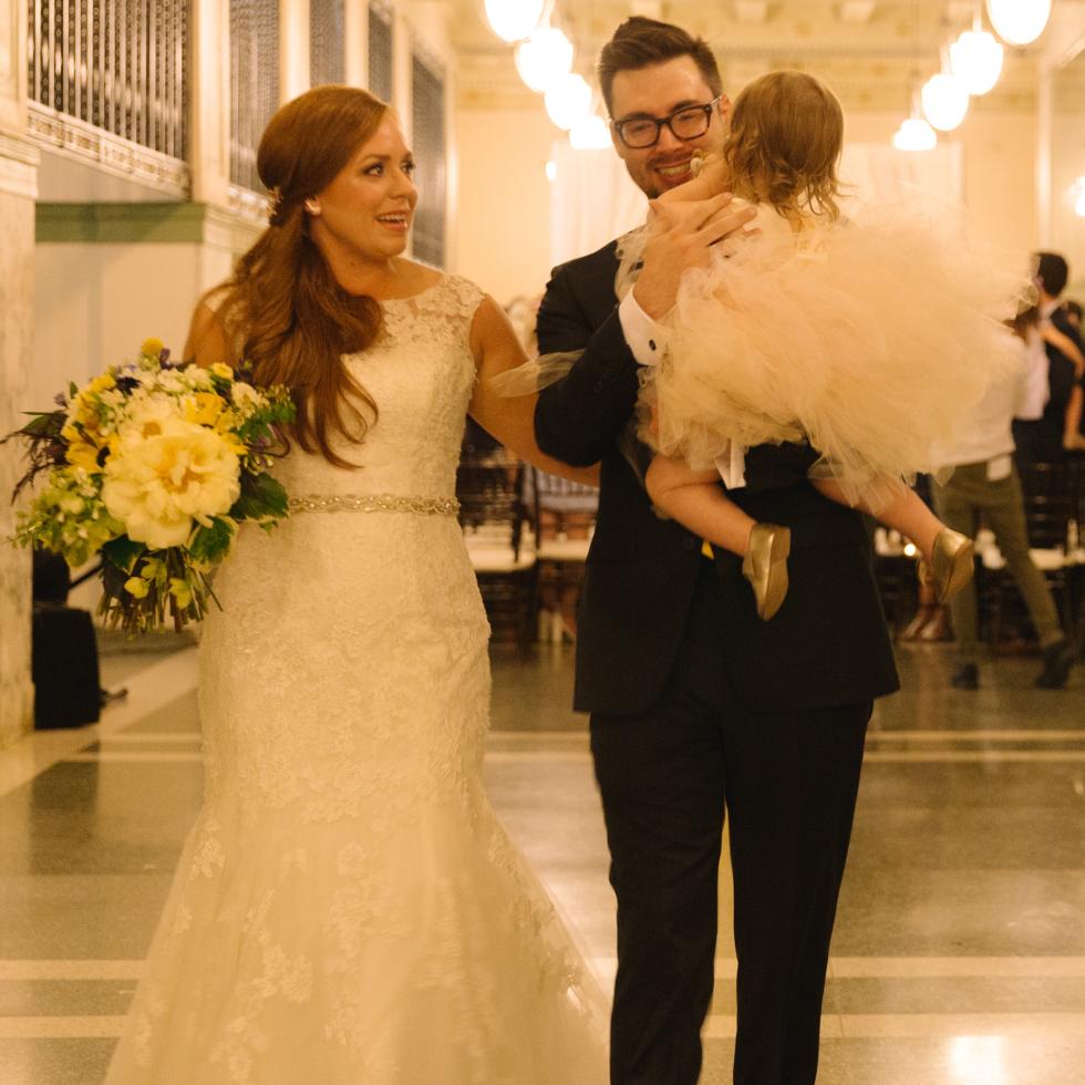 Collins Wedding, Aisle Walk