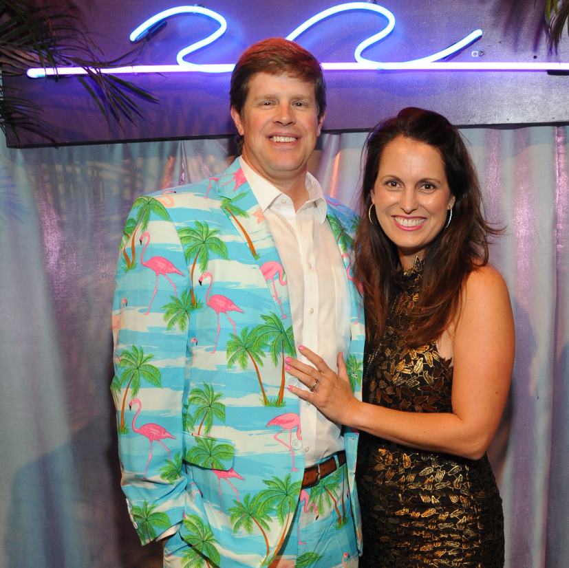 Martial and Val Burguieres at Miami Vice Children's Museum Gala