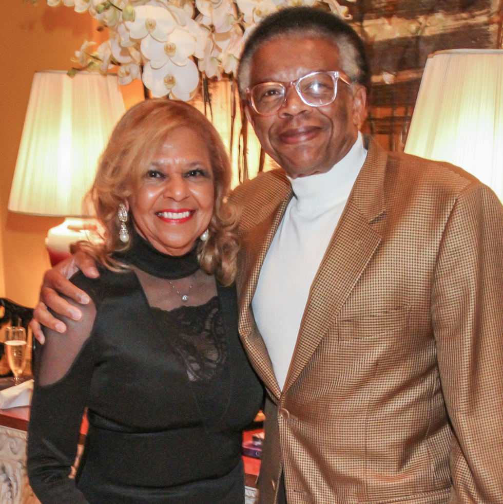 Yvonne and Rufus Cormier at Legacy Cocktail Party