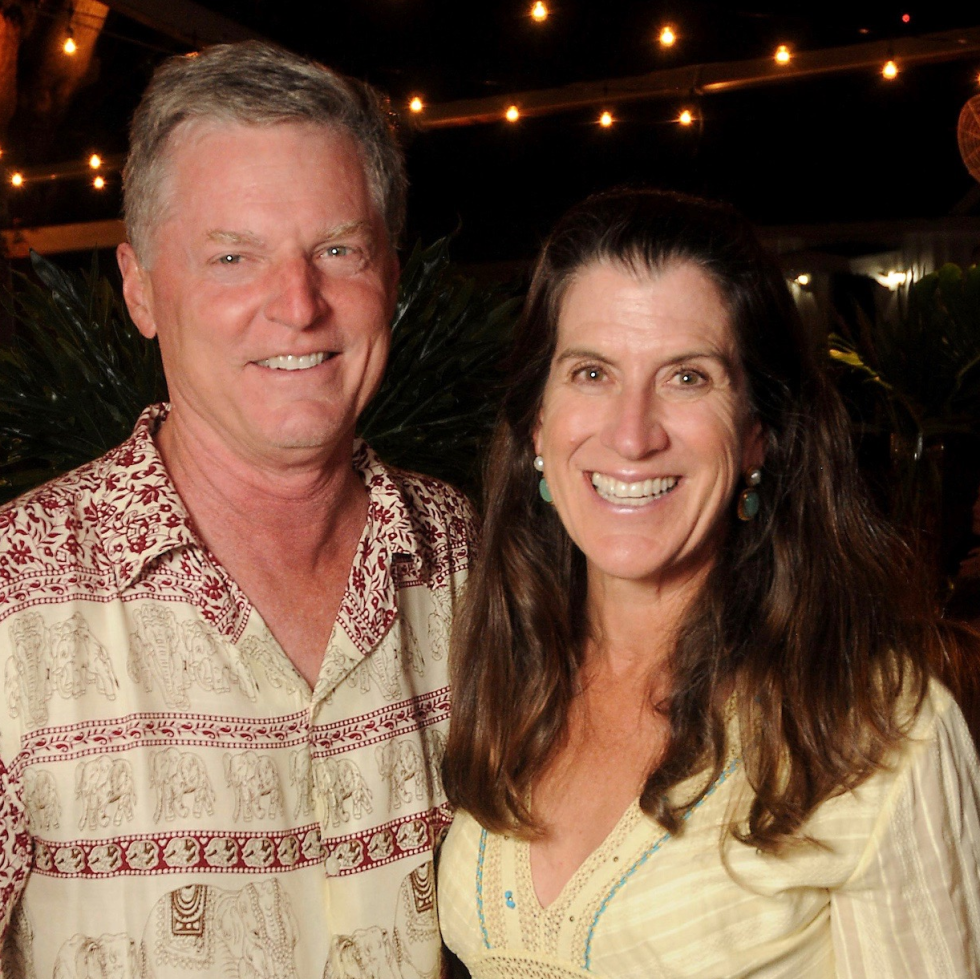 Kate and Steve Gibson at Nature Conservancy