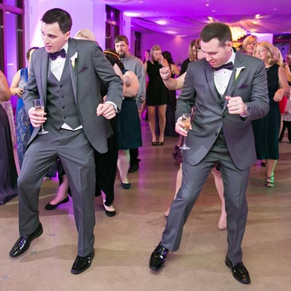 Upshaw wedding, couples dance
