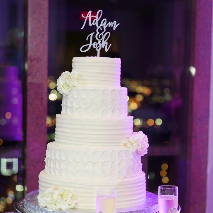 Upshaw wedding, cake