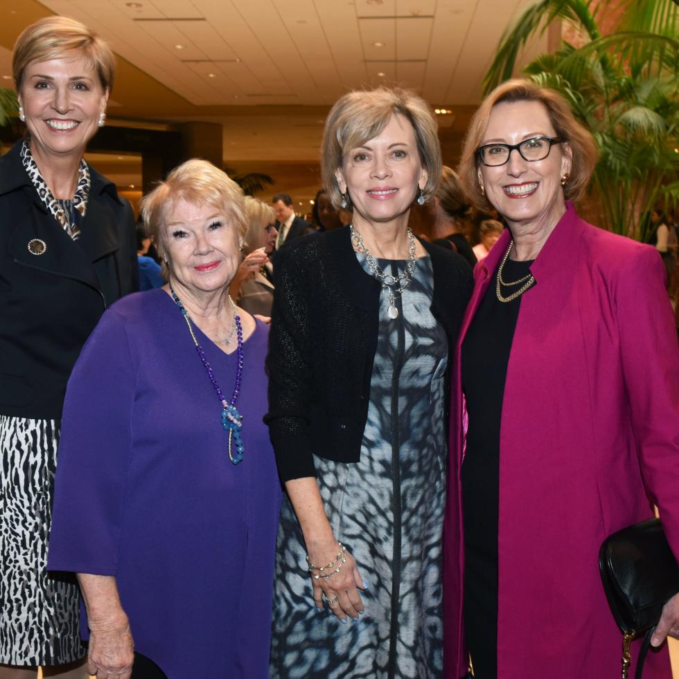 Dr. Carine Feyten, Nancy Ann Hunt, Lisa Simmons, Roslyn Dawson Thompson