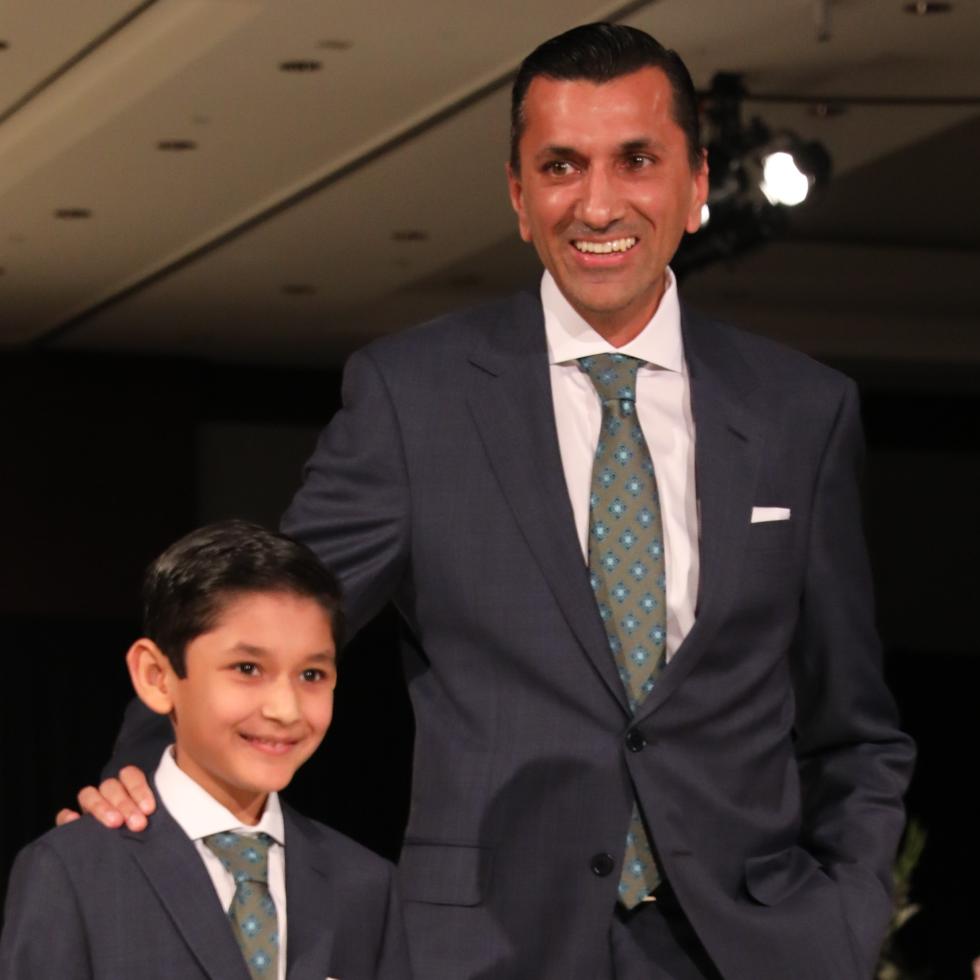 Shaan and Ajay Khurana at Festari Gala
